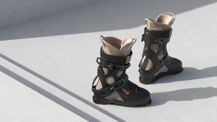 dahu ski boots still life