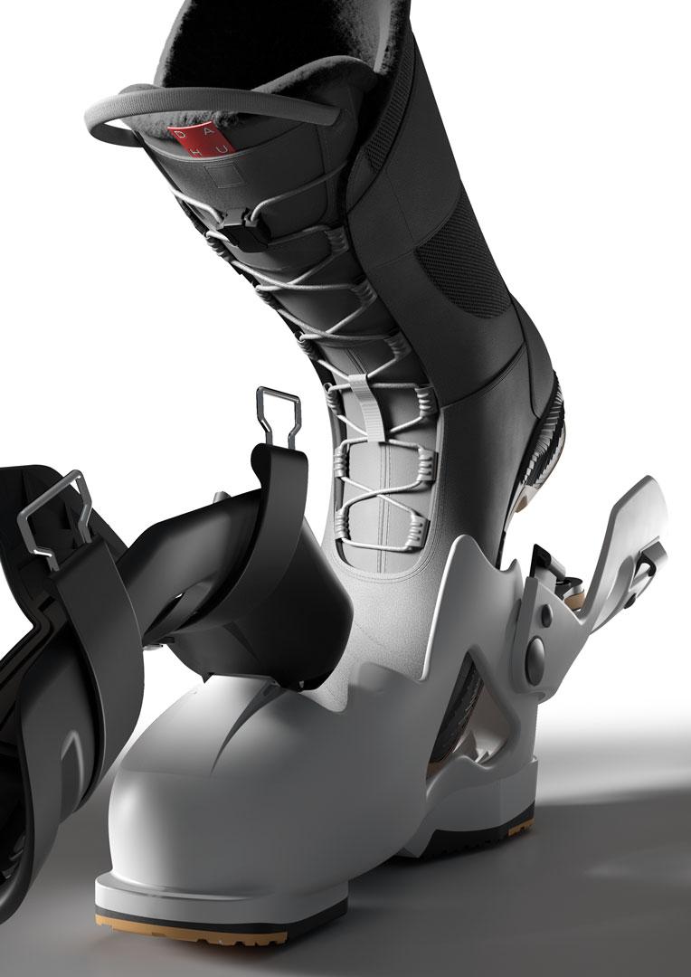 ski boot new concept
