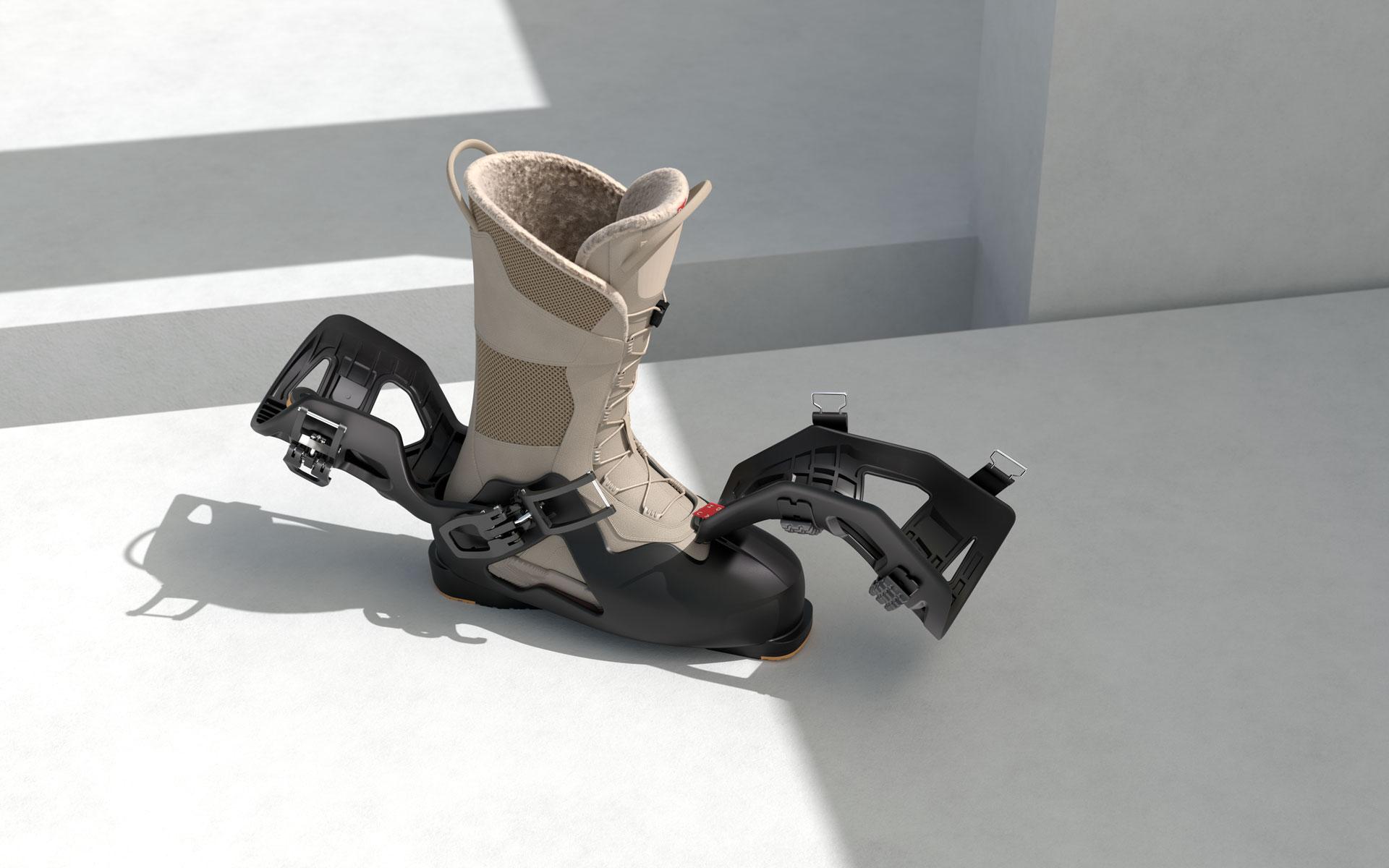 new ski boot concept